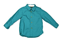 Green shirt Stock Images