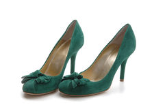 Green shoe Stock Photos