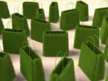 Green shopping Royalty Free Stock Image