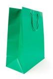 Green Shopping Bag Stock Photography