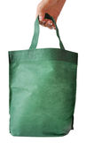 Green shopping bag Royalty Free Stock Images