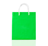 Green shopping royalty free stock photography