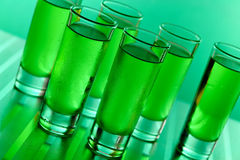 Green shots Royalty Free Stock Image