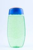 Green shower gel. In bottle on white background Stock Photography