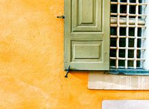 Green shutter Royalty Free Stock Photography