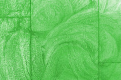 Green sidewalk chalk drawing background Royalty Free Stock Images