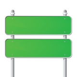 Green Sign Royalty Free Stock Photo