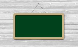 Green sign Board with copy space Stock Photography