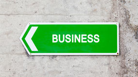 Green sign - Business Royalty Free Stock Photo
