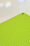 Green silicon mat Stock Photo