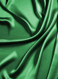 Green silk Stock Photography