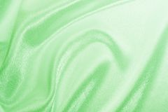 Green silk Stock Photo