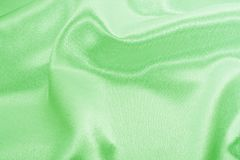 Green silk Stock Photos