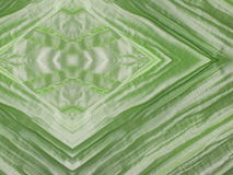 Green silk fabric texture Stock Image
