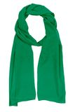 Green silk scarf Stock Photography