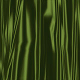 Green Silky Fabric Stock Images