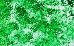 Green silver romantic soft vivid painting watercolor background, abstract painting watercolor background royalty free stock photos