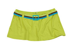Green skirt Stock Photo
