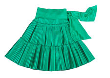 Green skirt Stock Images