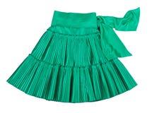 Green skirt Stock Images