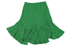 Green skirt Stock Image
