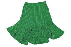 Green skirt Stock Image