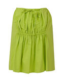 Green skirt Stock Photos