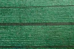 Green slant net protection Stock Image