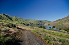 The Green Slopes of Hells Canyon in Spring Royalty Free Stock Photography