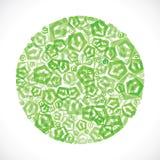 Green small arrow icon design. Stock vector Stock Photo