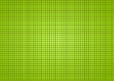 Green small squares background. Green small bathroom wall tiles background. Little squares grid backdrop Royalty Free Stock Images