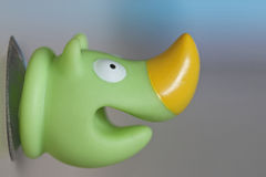 Green smiling rhino Royalty Free Stock Images