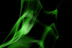 Green smoke Royalty Free Stock Photo