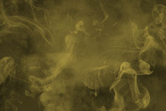 Green smoke abstract background Royalty Free Stock Photos