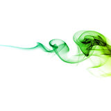 Green smoke Royalty Free Stock Images