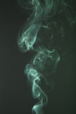 Green smoke background, close up Royalty Free Stock Photography