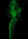 Green smoke. Royalty Free Stock Photos