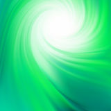 Green smooth twist light lines. EPS 8 Stock Photos