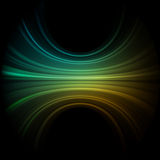 Green smooth wave. EPS 8 Royalty Free Stock Photo