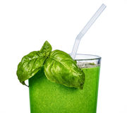 Green smoothie Royalty Free Stock Image