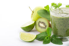 Green smoothie Stock Photography