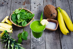 Green smoothie. Stock Photography