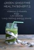 Green smoothie health benefits Stock Photos