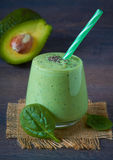 Green smoothie Royalty Free Stock Images