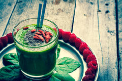 Green smoothie. Stock Photos