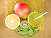 Green smoothie Stock Image