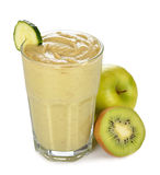 Green smoothies Royalty Free Stock Photography