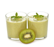 Green smoothies Stock Image