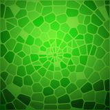 Green snake skin abstraction. Royalty Free Stock Images