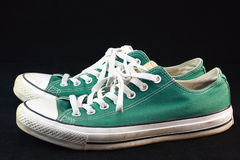Green Sneaker Royalty Free Stock Photo